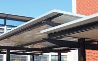 CCC241: I-BEAM SINGLE FLAT ROOF