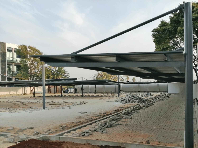 Cantilever Designer Flat Roof