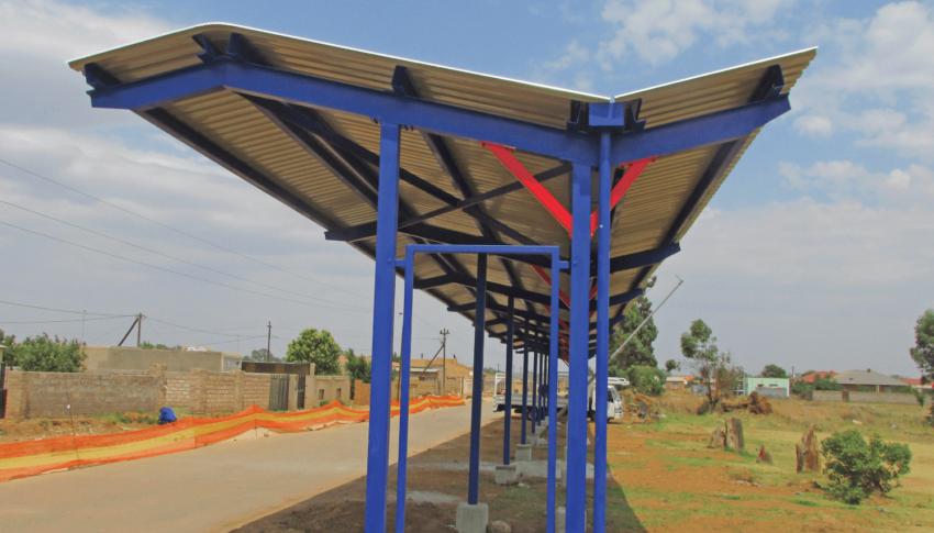 Soweto Bus Stop: Custom Architectural Design