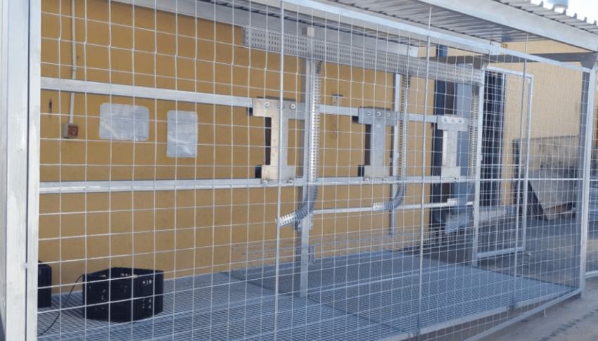 Custom: Inverter Security Cages