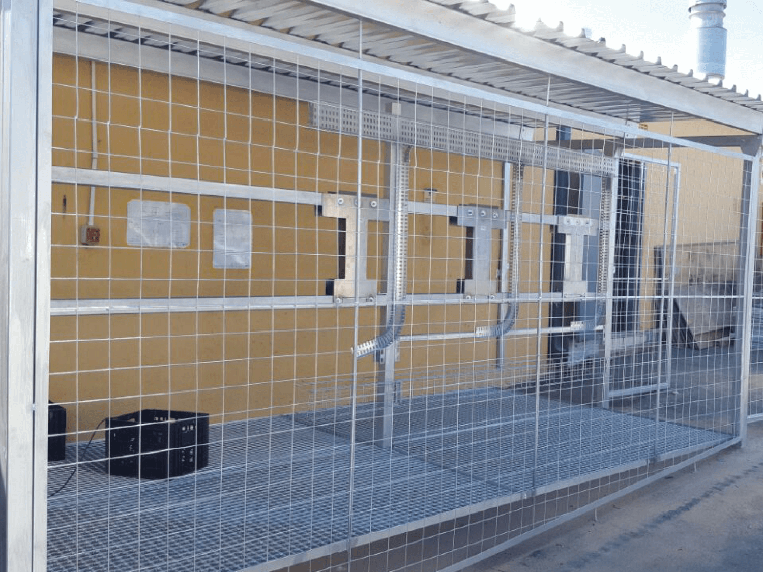 Custom- Inverter Security Cages