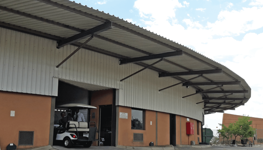 Entrance Canopy at FNB