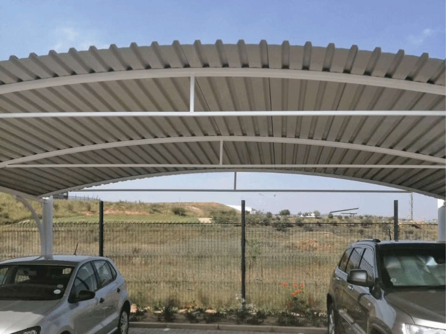 Ecospan Beam Structure Dome Shadeport