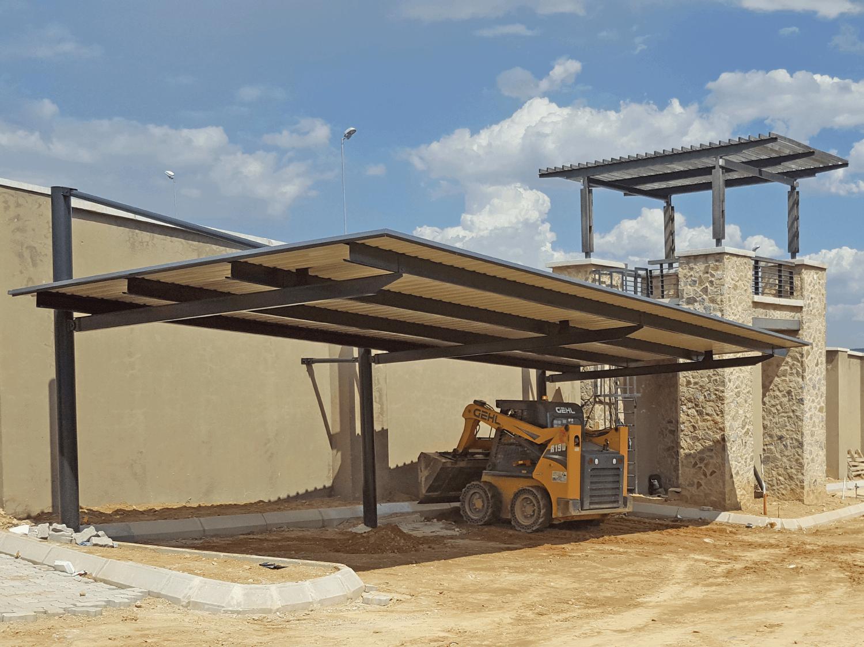 Ecospan Designer Steel Cantilever Flat Roofs