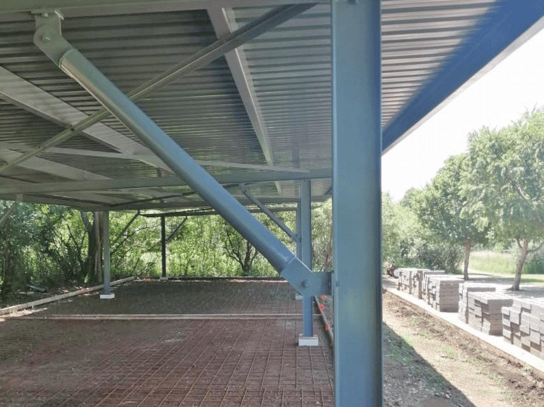 Ecospan Steel Carport