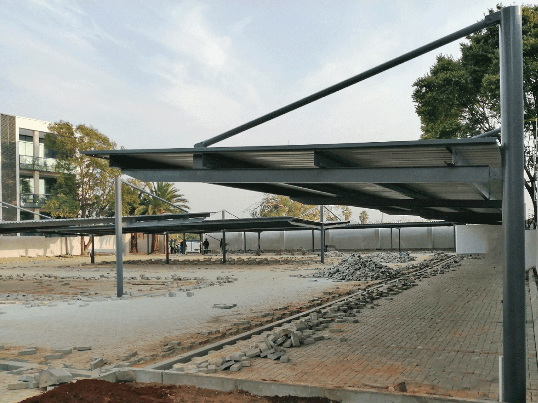 Ecospan Cantilever Designer Flat Roof