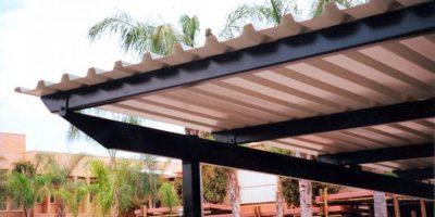 Ecospan Tapered Beam Single Flat Roof