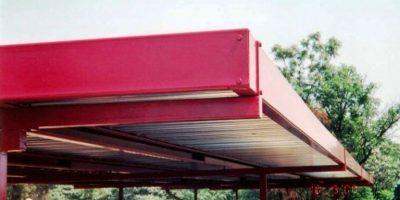 Ecospan Fascia Nose-to-Nose Flat Roof