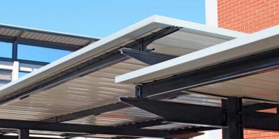 Ecospan i-Beam Single Flat Roof