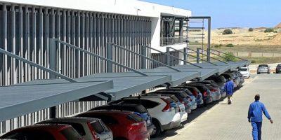 Ecospan Cantilever Fascia Single Flat Roof