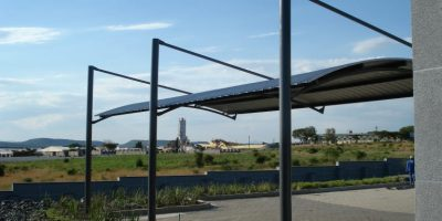 Ecospan Cantilever Arch Single Roof